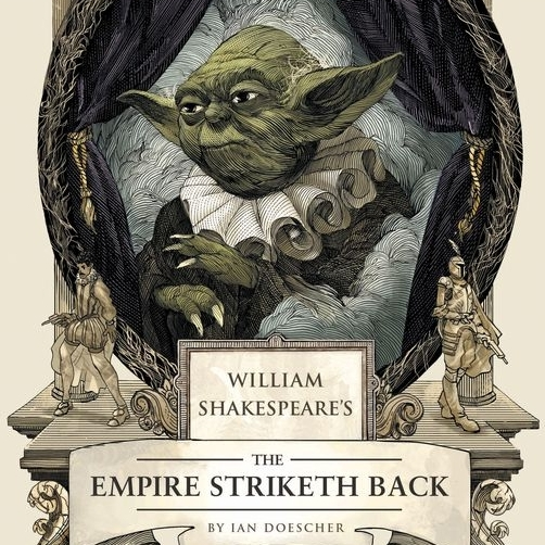 """THE EMPIRE STRIKETH BACK"" GRAPHIC"