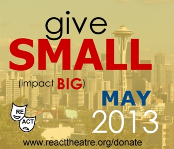 """GIVE SMALL & IMPACT BIG"" GRAPHIC"