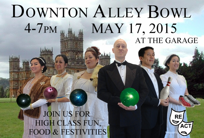 """THE DOWNTON ALLEY"" BOWL-O-RAMA GRAPHIC"