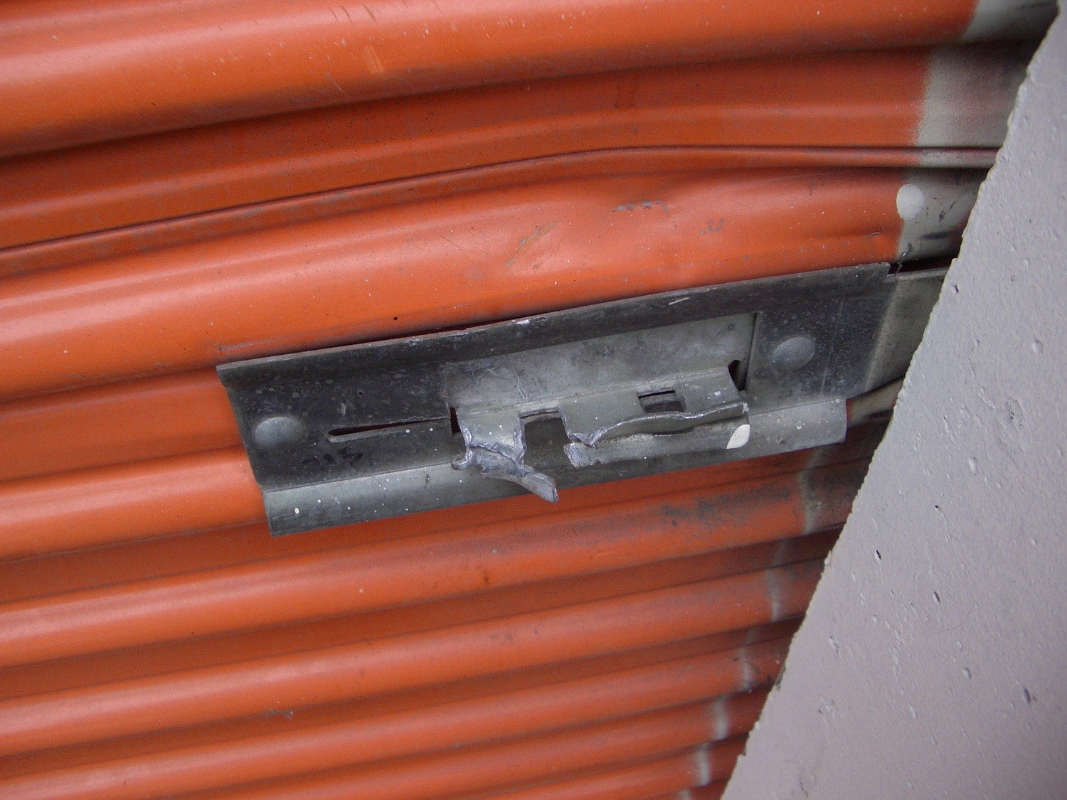 THE BROKEN STORAGE UNIT LOCK